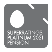 Superratings Platinum 2021 Pension